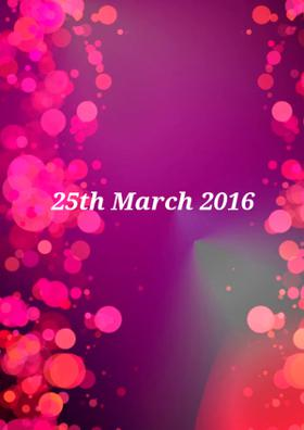 25th March 2016