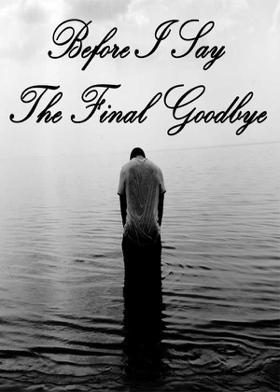 Before I Say The Final Goodbye