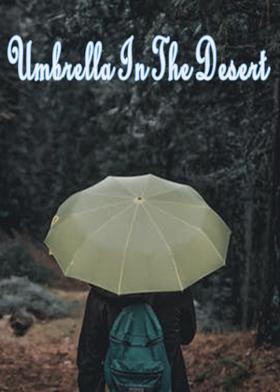 Umbrella In The Desert
