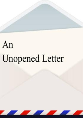 An Unopened Letter