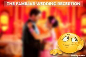 The Familiar Wedding Reception