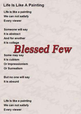 Blessed Few