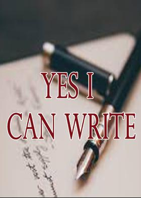 YES I CAN WRITE