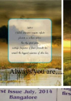 Always You Are