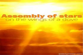 Assembly Of Stars On The Wings Of A Dove