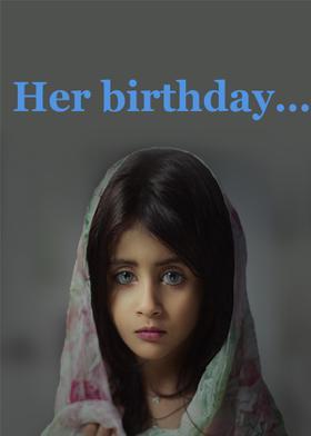 Her Birthday…