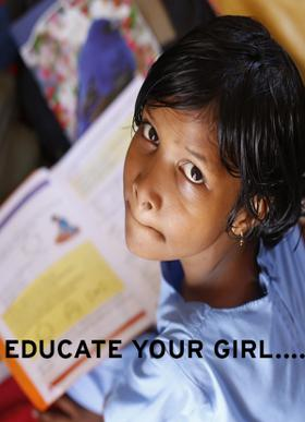 EDUCATE YOUR GIRL....