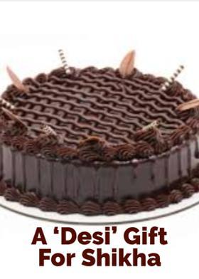 A 'Desi'  Gift For Shikha