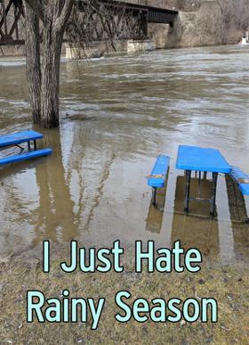 I Just Hate Rainy Season