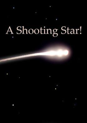 A Shooting Star!